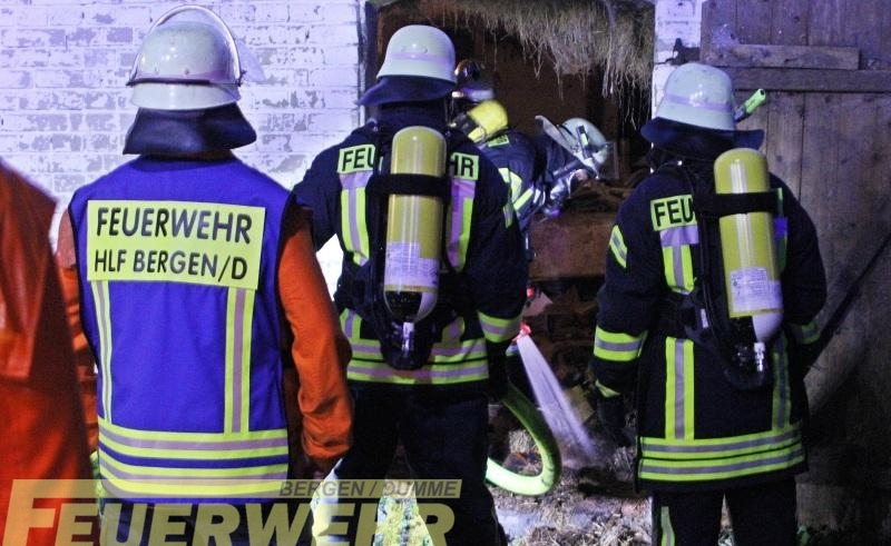 Brandeinsatz Gebäude